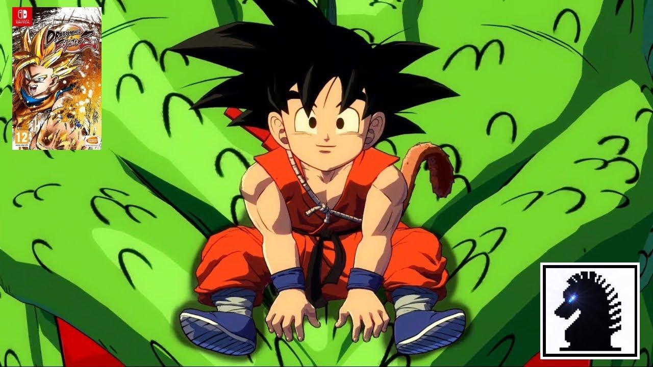 Ns Dragon Ball Fighterz Son Goku Gt Youtube