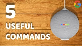 5 Google Home/Google Assistant Commands & Tricks that you will ACTUALLY USE!
