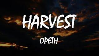 Opeth - Harvest (LYRICS. Español/English)