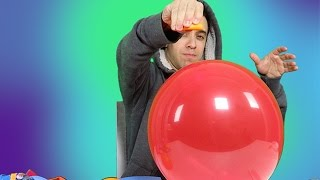 How to Pop Balloons with Orange Peels! ~ With Explanation