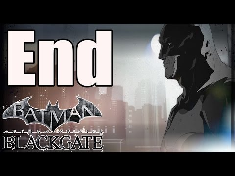 Ending Batman Arkham Origins Blackgate Deluxe Edition Final Boss and Ending (Catwoman FIght) PC HD |