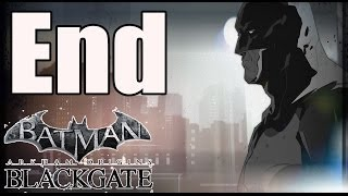 Ending Batman Arkham Origins Blackgate Deluxe Edition Final Boss and Ending (Catwoman FIght) PC HD