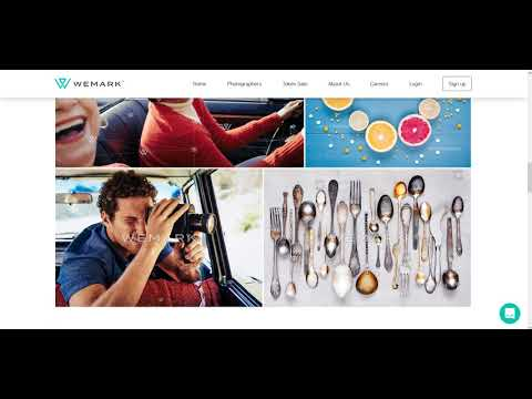 Wemark - stock photography marketplace on blockchain