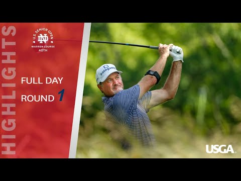 2019 U.S. Senior Open: Round 1 Extended Highlights