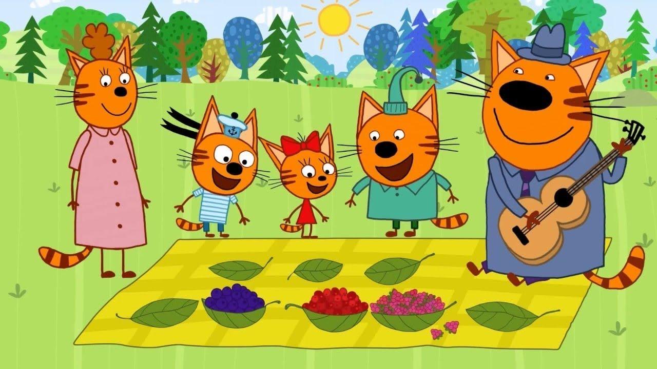 Три кота/Миумиумиу/Раскраска Мама Кот/из мультика три кота ...