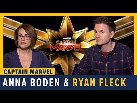 Directors Anna Boden And Ryan Fleck Talk 'Captain Marvel'