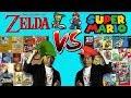 Mario VS The Legend of Zelda - Which Nintendo Franchise is Best?
