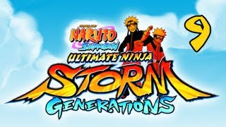 Naruto Shippuden Ultimate Ninja Storm Generations - Walkthrough Part 9 Haku & Zabuza Story