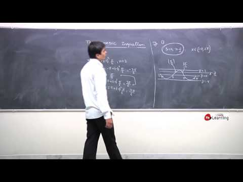 Introduction: Trignometric Inequation 01/10