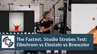 Studio Strobes Test: Elinchrom Vs Einstein Vs Broncolor, Where Most Stopping Power?