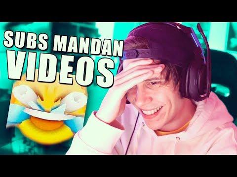 MIS SUSCRIPTORES ME MANDAN VIDEOS DENIGRANTES