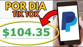 Como Ganhar R$100 por dia com TikTok   Ganhar Dinheiro na Internet