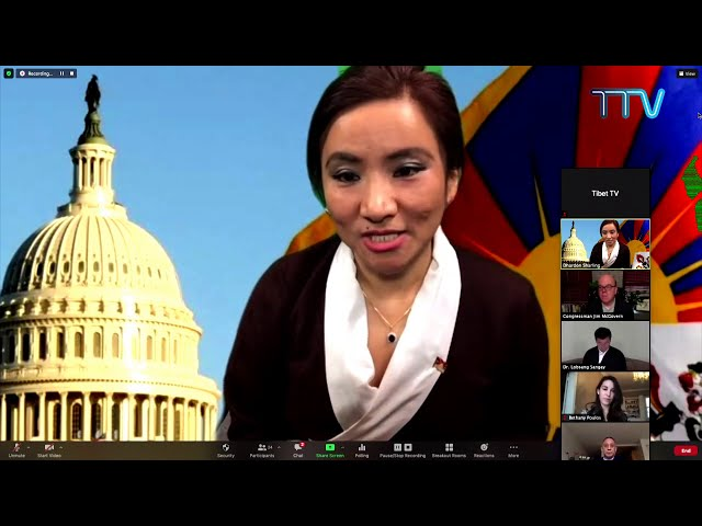 Virtual celebration of Tibetan Policy and Support Act 2020