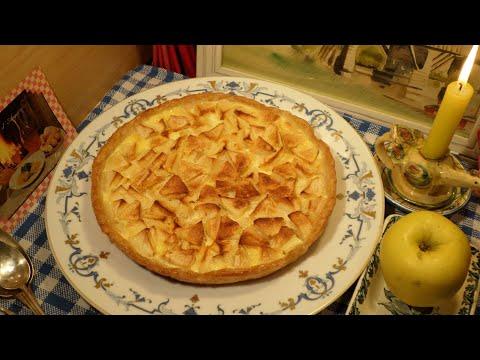 """recette-:-tarte-normande-aux-pommes-grand-mère-""""mitraille""""---canal-gourmandises"""