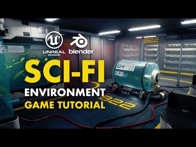 Sci-Fi Game Environment in Blender & UE4 | Trailer