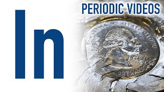Indium (new) - Periodic Table of Videos