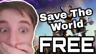 How To Get Fortnite Save The World For Free 2019! Xbox,PS4 V8.50 WORKING