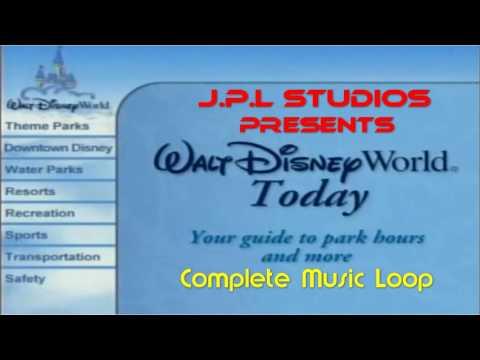 WDW Today ~ Resort TV Music Loop ~ Pre - 2015 ~ Source Audio Soundtrack - Walt Disney World Today
