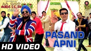 Pasand Apni Official Video - Aa Gaye Munde UK De | Jimmy Sheirgill, Neeru Bajwa | Punjabi Folk | HD