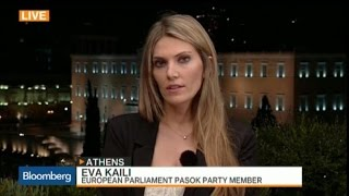 The Tension Is Huge in Greece: Pasok's Kaili
