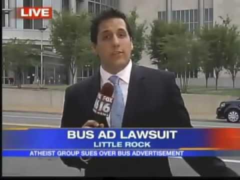 Atheist Bus Ads - Little Rock, AR - Central Arkansas Coalition of Reason - Local news