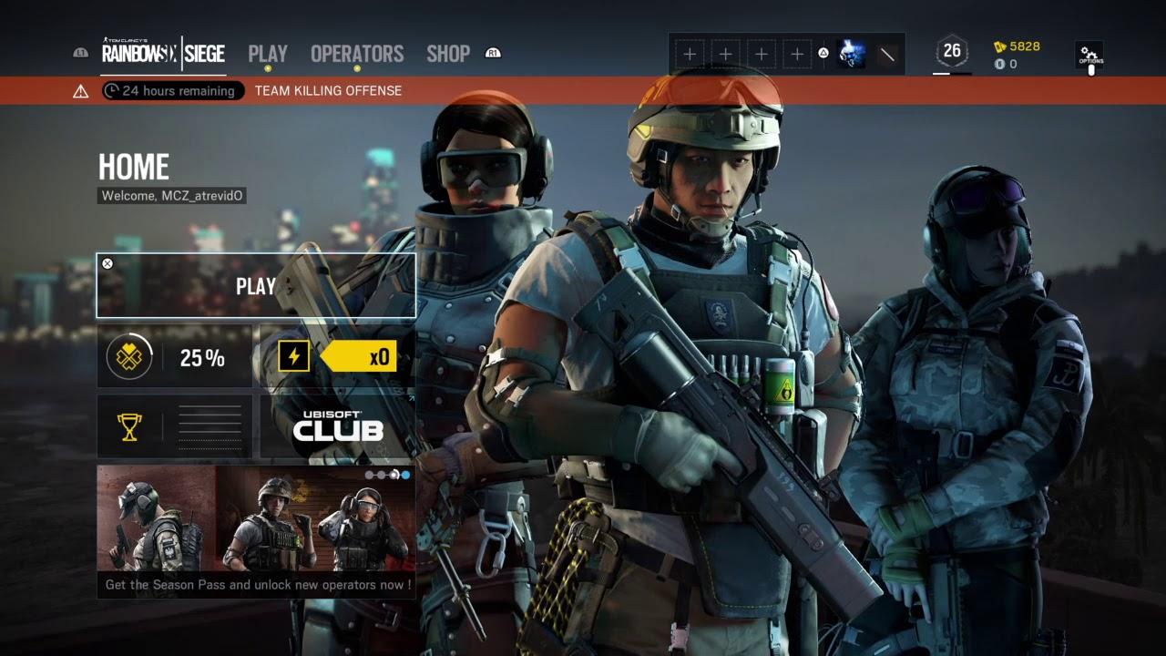 Tom Clancy\u0027s Rainbow Six® Siege Team killing Offense - YouTube