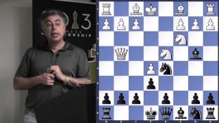 Sicilian Defense, Pin Variation - GM Yasser Seirawan