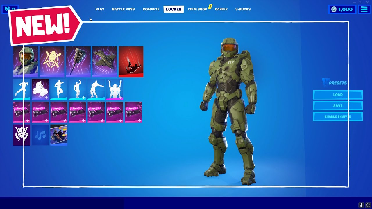 New Fortnite X Halo Master Chief Skin Gravity Hammer Pickaxe Unsc Pelican Glider Lil Warthog Youtube Отметок «нравится», 320 комментариев — fortnite battle royale (@fortnitebr) в instagram: new fortnite x halo master chief skin gravity hammer pickaxe unsc pelican glider lil warthog