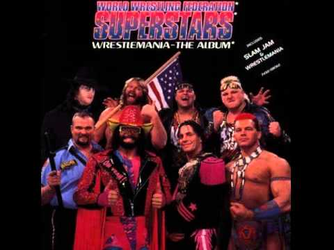 WWF Wrestlemania_ (Album 1993) Tatanka Native American