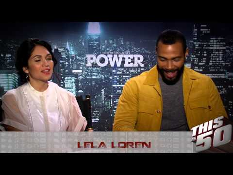 Omari Hardwick & Lela Loren Talk Power Season 2; Love Vs Sex; Family