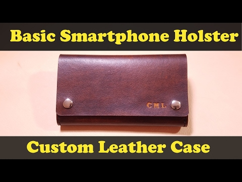 Iphone 7 Plus Leather Belt Clip Holster Case Youtube