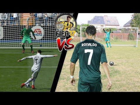 FIFA 17 IN REAL LIFE FOOTBALL PENALTIES GAMEPLAY!!!