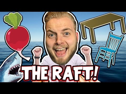 NEW UPDATE!! TABLES CHAIRS & BEETROOT?! - THE RAFT! [5]