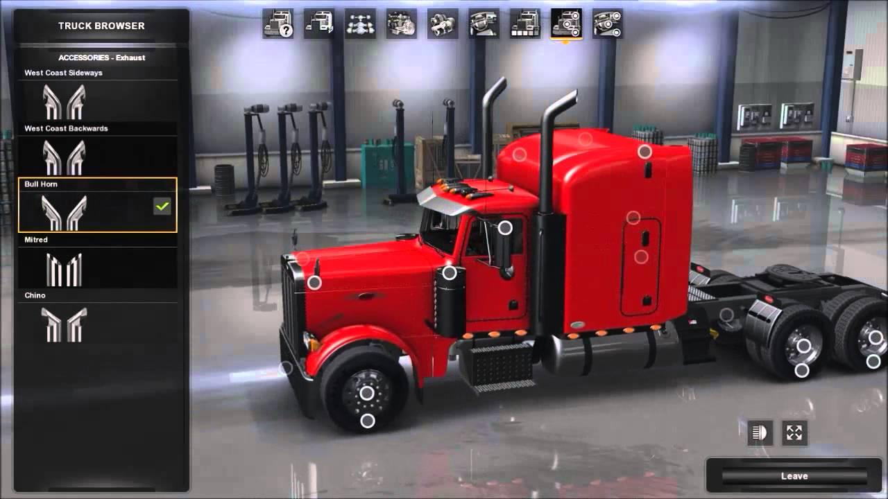 American Truck Simulator Peterbilt 379 Exhd More New Accessories