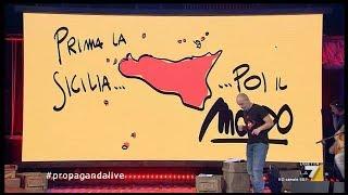 L'importanza della Sicilia nel panorama geopolitico italiano | Propaganda live, (La7) 03.11.2017