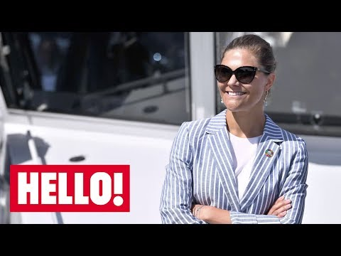 Celebrity daily edit: Princess Victoria heads back to work, Cambridges arrive in Scotland - video