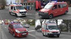 [Großalarm in Singen] Feuerwehr + Regel-Rettungsdienst + Schnelleinsatzgruppe Konstanz EE 3
