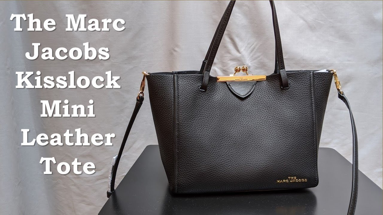 The Marc Jacobs Kisslock Mini Leather Tote