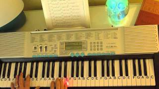 How to Play ~ Prelude in C - Ave Maria ~ JS Bach ~ LetterNotePlayer ©