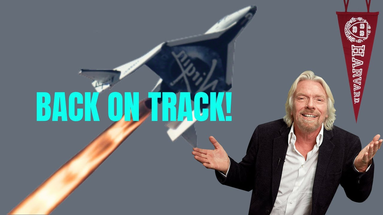 Virgin Galactic [SPCE] is back on track! Important update.