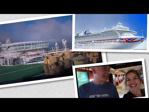 P&O Ventura | Ship Tour and Waterside Breakfast buffet gluten and vegan options