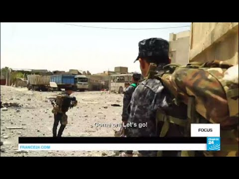 Mosul: Embedded with elite Federal police forces fighting the Islamic state Group