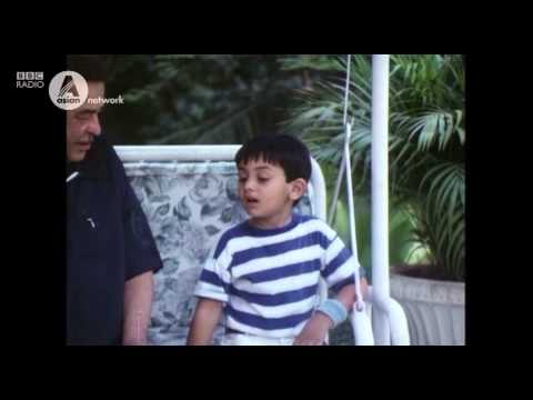 Ranbir Kapoor with his grandfather Raj Kapoor when he was six years old!