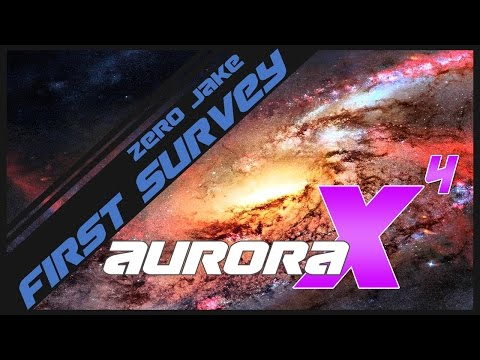 Aurora 4X - Part 3 - Survey Ship Construction (Gameplay)