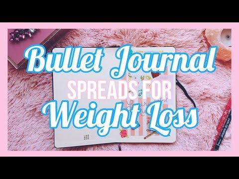 Bullet Journal for Weight Loss | Fearloss Fitness | WLMAKERS