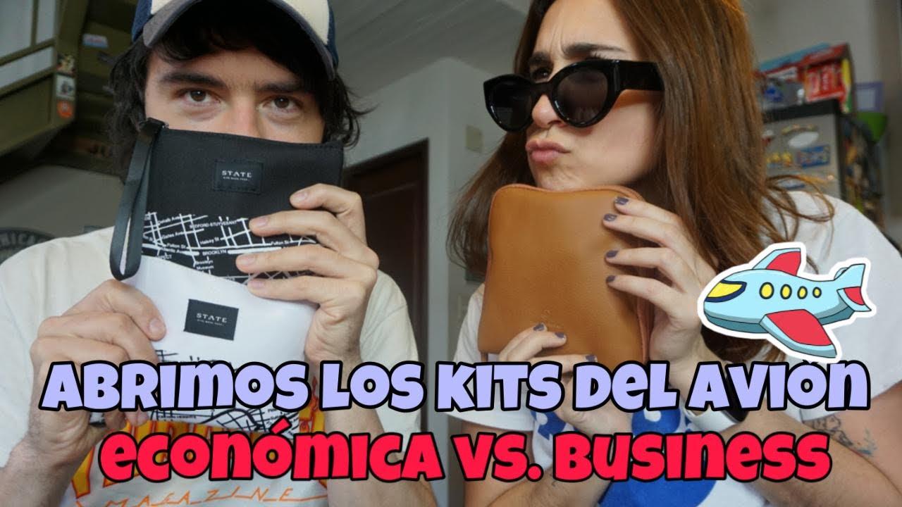 COMPARACIÓN: KIT DE BUSINESS VS KIT DE ECONÓMICA PREMIUM AMERICAN AIRLINES | Flashpackers Club