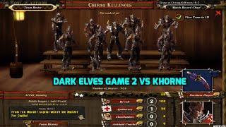 Blood Bowl Multiplayer Dark Elves | Game 2 |  vs  Khorne Daemons (1/2)