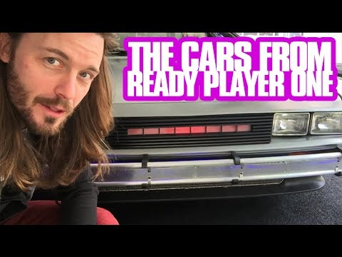 aVLOGinauto - THE CARS from READY PLAYER ONE