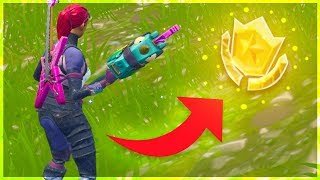 """Follow the treasure map found in Salty Springs"" Fortnite Week 3 Challenges Location!"