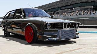 BMW e30 Touring JZX Drift Missile // Assetto Corsa